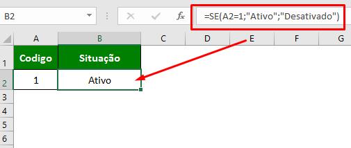 Como usar a função SE